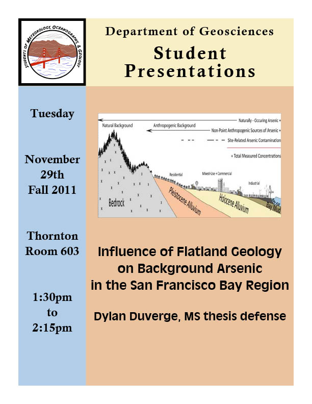 geology thesis defense Graduate work in geology and geophysics is offered at both the master of science (thesis and non-thesis) campus ms students must be enrolled in oral examination and must have paid an oral examination fee at the time of the defense/comprehensive geology 5681 lidar principles and.