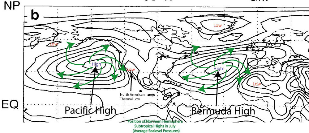 geographical analysis subtropical anticyclones A surface weather analysis is a special type of weather map that provides a view of weather elements over a geographical  subtropical storm, and from.