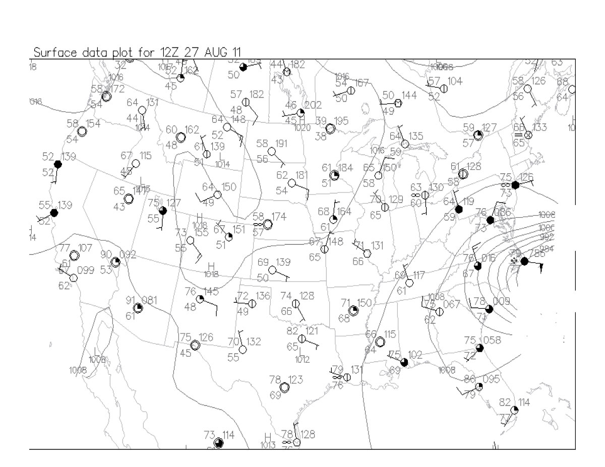 Us Surface Map Forecast Globalinterco - Us surface weather map